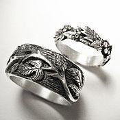 Свадебный салон ручной работы. Ярмарка Мастеров - ручная работа Обручальные кольца на заказ. Handmade.