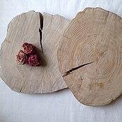 Материалы для творчества ручной работы. Ярмарка Мастеров - ручная работа Спил дерева. Handmade.