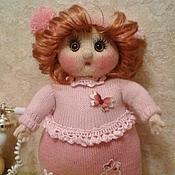 Куклы и игрушки ручной работы. Ярмарка Мастеров - ручная работа Кукла толстушка Лидуня. Handmade.