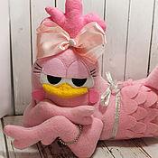 Куклы и игрушки ручной работы. Ярмарка Мастеров - ручная работа Гламурная курочка Курита. Handmade.