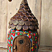 Посуда handmade. Livemaster - original item A magical house for Fairies decor polymer clay. Handmade.