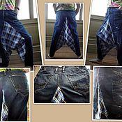 Одежда handmade. Livemaster - original item Denim boho pants-Aladdin 2. Handmade.