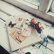 Канцелярские товары ручной работы. Ярмарка Мастеров - ручная работа Блокнот с нуля Любимый, Старенький.... Handmade.