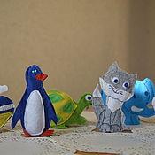 """Куклы и игрушки ручной работы. Ярмарка Мастеров - ручная работа Развивающая книжка  """"Животные"""". Handmade."""