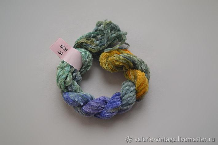 Silk chenille (no. №24), Thread, Moscow,  Фото №1