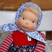 Куклы и игрушки ручной работы. Ярмарка Мастеров - ручная работа Катюша - игровая кукла ручной работы  в вальдорфском стиле. Handmade.