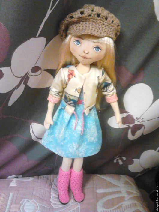 Коллекционные куклы ручной работы. Ярмарка Мастеров - ручная работа. Купить Кукла Леночка. Handmade. Комбинированный, подарок, куклы и игрушки