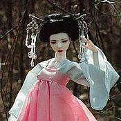 Куклы и игрушки ручной работы. Ярмарка Мастеров - ручная работа Шарнирная кукла Кику. Handmade.