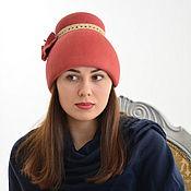 Шляпы ручной работы. Ярмарка Мастеров - ручная работа Снопик. Зимняя шапочка. Handmade.