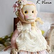 Куклы и игрушки ручной работы. Ярмарка Мастеров - ручная работа Эмми Бу  (Тедди обезьянка). Handmade.