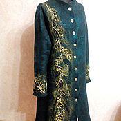 Одежда ручной работы. Ярмарка Мастеров - ручная работа Валяное пальто Тайга. Handmade.