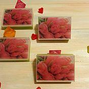 handmade. Livemaster - original item Soap with a picture of Tulips. Handmade.