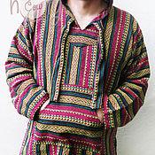"""Одежда ручной работы. Ярмарка Мастеров - ручная работа Толстовка с капюшоном """"Happy Hippie"""". Handmade."""