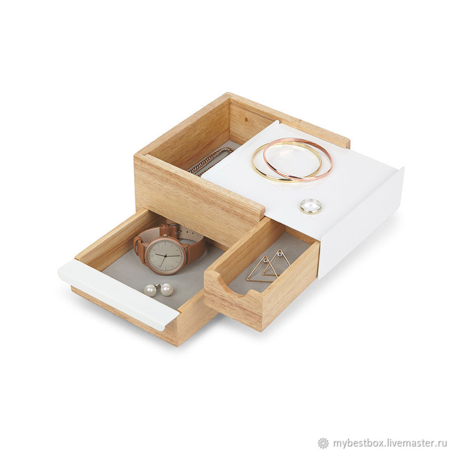 Jewelry box Stowit Mini white tree, Box, Moscow,  Фото №1