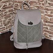 Сумки и аксессуары handmade. Livemaster - original item Model 133 genuine leather Backpack. Handmade.