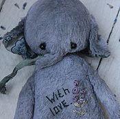 """Куклы и игрушки ручной работы. Ярмарка Мастеров - ручная работа """"Друзья в дорогу.Слоник"""". Мишки тедди. Handmade."""