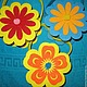 Материалы для флористики ручной работы. Корзинка фетровая. Творческое Трио. Интернет-магазин Ярмарка Мастеров. Разноцветный, фетр, пасхальный сувенир