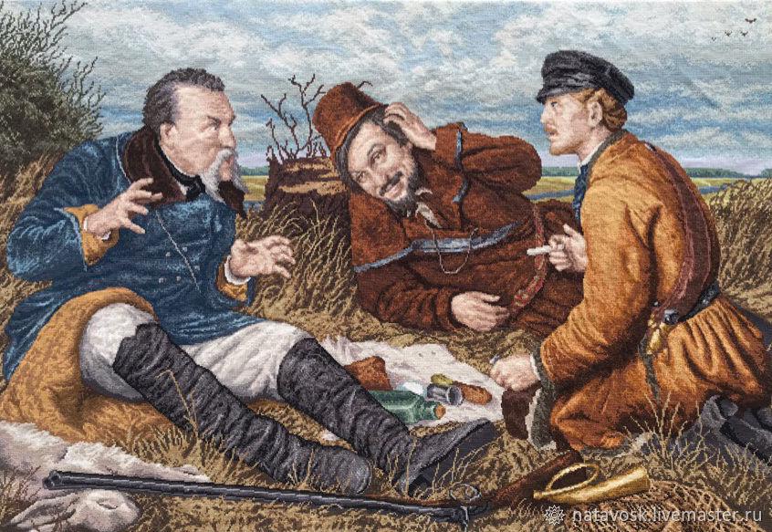 йорк рисунок охотники на привале сорта
