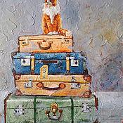 Картины и панно handmade. Livemaster - original item Painting on canvas