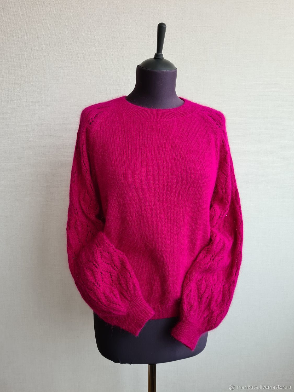 Fuchsia Angora Blouse, Sweater Jackets, Moscow,  Фото №1
