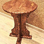 Для дома и интерьера ручной работы. Ярмарка Мастеров - ручная работа Табурет круглый. Handmade.