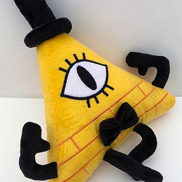 Куклы и игрушки ручной работы. Ярмарка Мастеров - ручная работа Мягкая игрушка Билл Шифер Bill Cipher. Handmade.