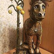 Скульптуры ручной работы. Ярмарка Мастеров - ручная работа Скульптуры: Лошадка. Handmade.