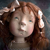 Куклы и игрушки ручной работы. Ярмарка Мастеров - ручная работа Малиновое суфле. Handmade.