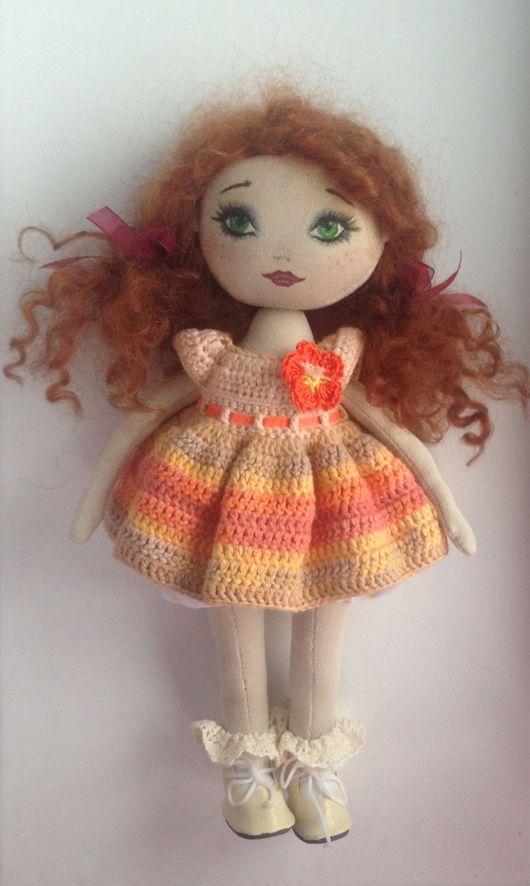 Коллекционные куклы ручной работы. Ярмарка Мастеров - ручная работа. Купить Рыжая кудряшка. Handmade. Кукла ручной работы