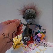 """Куклы и игрушки ручной работы. Ярмарка Мастеров - ручная работа Обезьянка """"Малыш орангуташик"""". Handmade."""