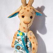 Куклы и игрушки ручной работы. Ярмарка Мастеров - ручная работа Жирафа Анисья. Handmade.