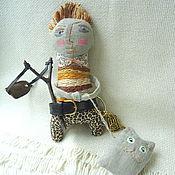 """Куклы и игрушки ручной работы. Ярмарка Мастеров - ручная работа Куколка """"Мальчуган хулиган""""   -  2. Handmade."""