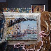 """Картины и панно ручной работы. Ярмарка Мастеров - ручная работа Картина """"Венеция. Гранд канал"""".. Handmade."""