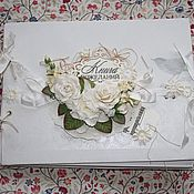 Свадебный салон ручной работы. Ярмарка Мастеров - ручная работа Книга пожеланий, свадебный альбом. Handmade.