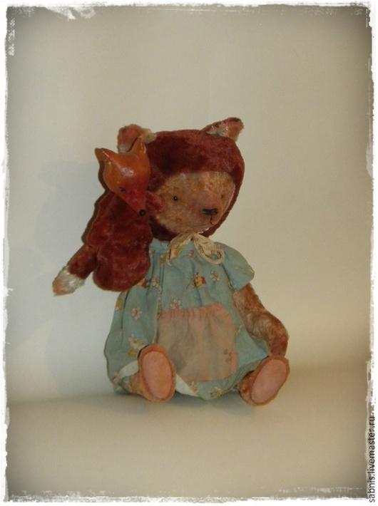 Мишки Тедди ручной работы. Ярмарка Мастеров - ручная работа. Купить Шубка ярче у меня..... Handmade. Разноцветный