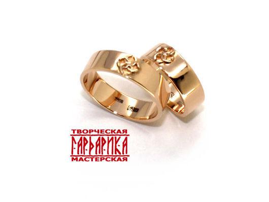 Славянские обручальные кольца со Свадебником