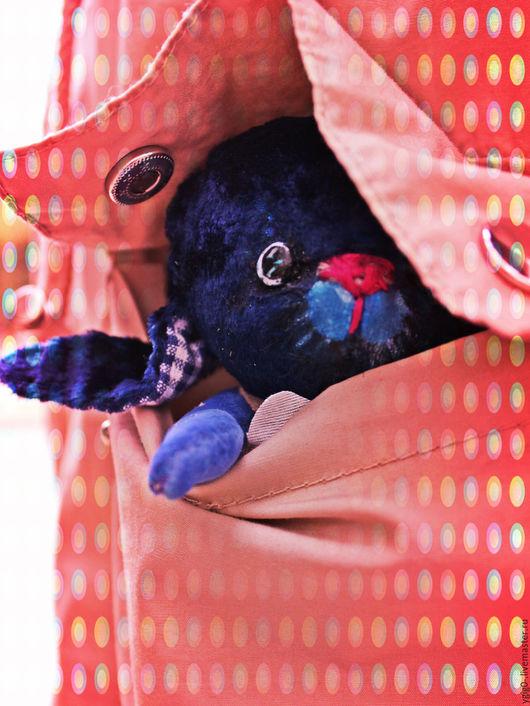 Мишки Тедди ручной работы. Ярмарка Мастеров - ручная работа. Купить Веня.... Handmade. Тёмно-синий, ручная работа, пастель