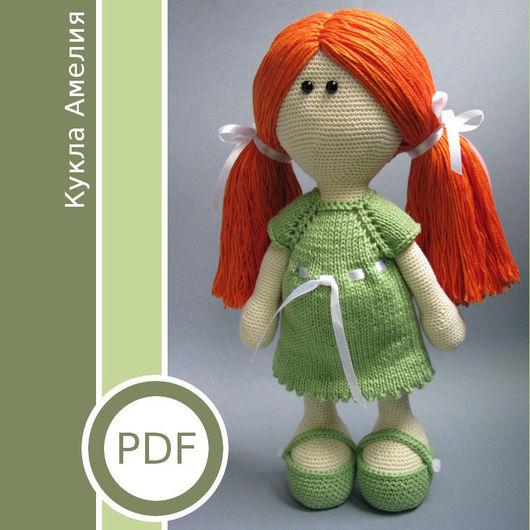 Коллекционные куклы ручной работы. Ярмарка Мастеров - ручная работа. Купить PDF-мастер-класс «Кукла Амелия». Handmade. Комбинированный