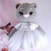Куклы и игрушки handmade. Livemaster - original item Cat in a dress. Handmade.