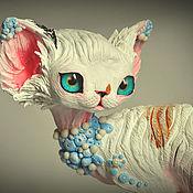 Для дома и интерьера handmade. Livemaster - original item Alex, cat Devon Rex. Handmade.