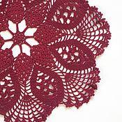 Для дома и интерьера handmade. Livemaster - original item Lace doily with knobs (No. №45). Handmade.
