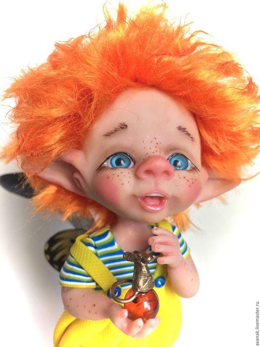 Коллекционные куклы ручной работы. Ярмарка Мастеров - ручная работа. Купить Стефан. Handmade. Комбинированный, сказочные существа, лесная фея