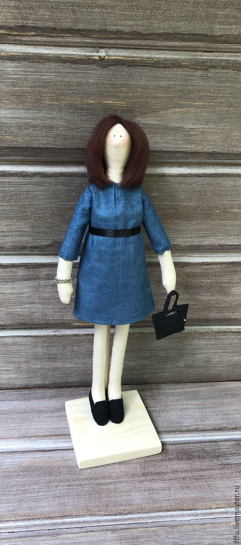 Портретная кукла в стиле Тильда Учительница, Куклы Тильды, Москва, Фото №1