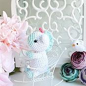 Куклы и игрушки handmade. Livemaster - original item Little unicorn knit. Handmade.