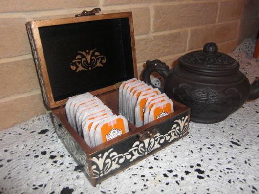 коробка для чайных пакетиков москва