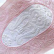 """Для дома и интерьера ручной работы. Ярмарка Мастеров - ручная работа Покрывало """" Розовые сны"""" Трапунто Квилтинг Для интерьера. Handmade."""