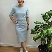 Одежда handmade. Livemaster - original item El vestido cubre pastel azul.. Handmade.