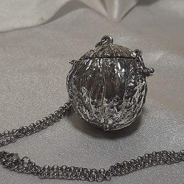 Посуда ручной работы. Ярмарка Мастеров - ручная работа Заварочник из серебра и титана. Handmade.