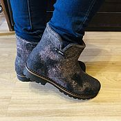 Обувь ручной работы handmade. Livemaster - original item ankle boots: Sunset.. Handmade.