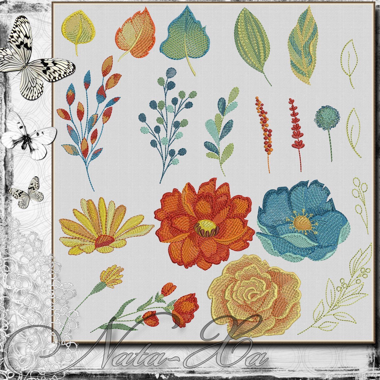 'Fireworks colors'. Set 2, Embroidery tools, Solikamsk,  Фото №1